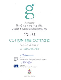 The Governor's Award for Design and  Construction Excellence